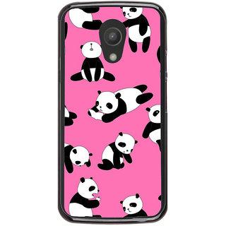 Ayaashii Panda Pattern Back Case Cover for Meizu M1 Note::Meizu Note1