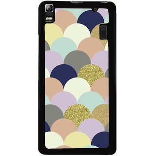 Ayaashii Half Circle Pattern Back Case Cover for Lenovo K3 Note