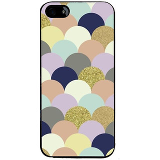 Ayaashii Half Circle Pattern Back Case Cover for Apple iPhone 5::Apple iPhone 5S