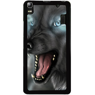 Ayaashii Animated Fox Back Case Cover for Lenovo K3 Note