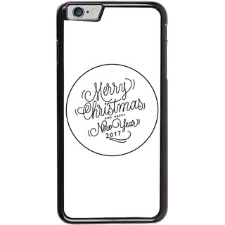 Ayaashii Marry Chirstmas Wishes Back Case Cover for Apple iPhone 6S Plus
