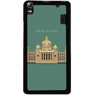 Ayaashii Bangalore Vidhan Sudha Back Case Cover for Lenovo K3 Note