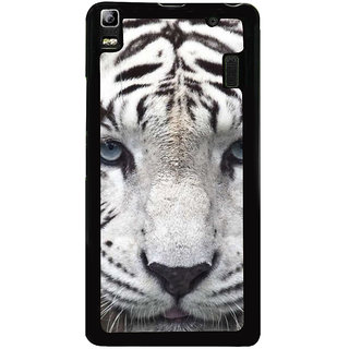 Ayaashii Tiger Face Back Case Cover for Lenovo K3 Note