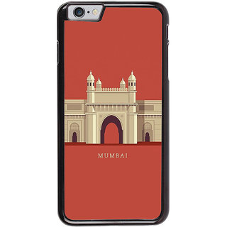 Ayaashii Mumbai Scene Back Case Cover for Apple iPhone 6S Plus