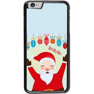 Ayaashii Ho Ho Ho Santa Claus Back Case Cover for Apple iPhone 6 Plus