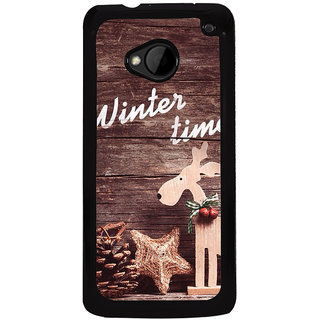 Ayaashii Chirstmas Tree Back Case Cover for HTC One M7::HTC M7