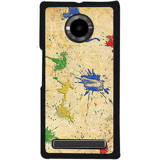 Ayaashii Music Ear Phones Back Case Cover for YU Yuphoria::Micromax Yuphoria YU5010