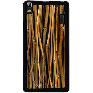 Ayaashii Bamboo Sticks Paattern Back Case Cover for Lenovo K3 Note