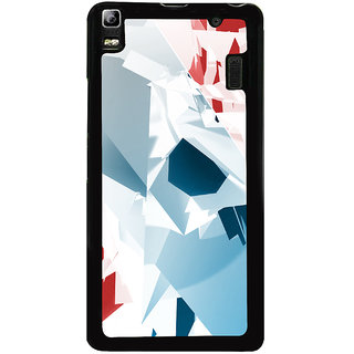Ayaashii Colorful Abstract Back Case Cover for Lenovo K3 Note