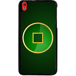 Ayaashii Square Circle Pattern Back Case Cover for HTC Desire 816::HTC Desire 816 G