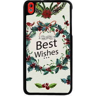 Ayaashii Best Wishes Back Case Cover for HTC Desire 816::HTC Desire 816 G