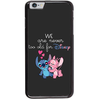 Ayaashii We R Never 2 Old Back Case Cover for Apple iPhone 6 Plus