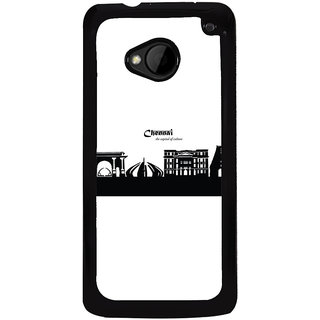 Ayaashii Smart City Nagpur Back Case Cover for HTC One M7::HTC M7
