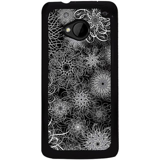 Ayaashii I Love Techno Back Case Cover for HTC One M7::HTC M7