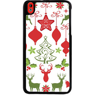 Ayaashii Chirstmas Star & Tree Back Case Cover for HTC Desire 816::HTC Desire 816 G