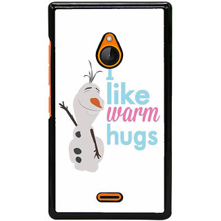 Ayaashii Best Wishes Back Case Cover for Nokia Lumia 540::Microsoft Lumia 540