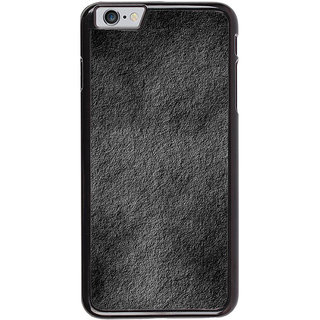 Ayaashii Black Stone Back Case Cover for Apple iPhone 6 Plus
