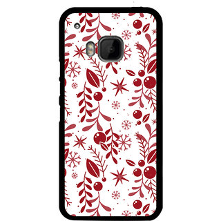 Ayaashii Different Squre Shapes Pattern Back Case Cover for HTC One M9::HTC M9::HTC One Hima
