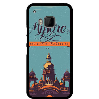 Ayaashii Let It Snow Back Case Cover for HTC One M9::HTC M9::HTC One Hima