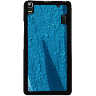 Ayaashii Blue Paint Back Case Cover for Lenovo K3 Note