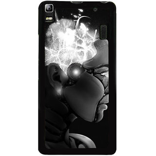 Ayaashii Animated Girl Face Back Case Cover for Lenovo K3 Note