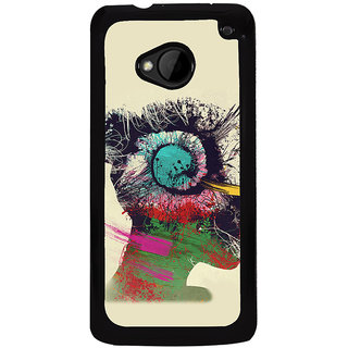 Ayaashii Animated Star Back Case Cover for HTC One M8::HTC M8
