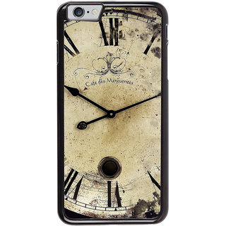 Ayaashii Caf des Clock Back Case Cover for Apple iPhone 6S Plus