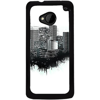 Ayaashii Wooden Floor Back Case Cover for HTC One M8::HTC M8