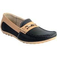 Skylark Men Black Loafers