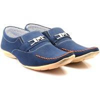 Skylark Men Blue Loafers