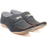 Skylark Men Black Loafers - 102711257