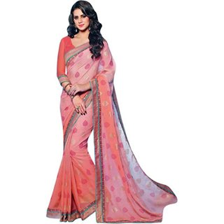 Yuvanika Multicolor Printed Bhagalpuri Silk Saree with Blouse-VIS2986