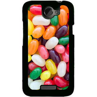 Ayaashii Colorful Baloons Back Case Cover for HTC One X::HTC One XT::HTC 1X