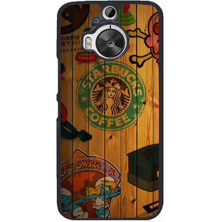 Ayaashii Animated Owl Back Case Cover for HTC One M9+::HTC One M9 Plus