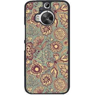 Ayaashii Colorful Illustration Back Case Cover for HTC One M9+::HTC One M9 Plus