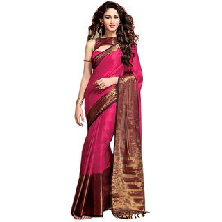 Yuvanika Multicolor Printed Cotton Saree with Blouse-AuSana