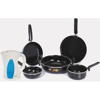 Special combo offer hard coat induction cookware set for Kitchen set combo offer
