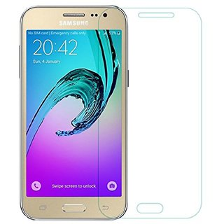 Tempered Glass Screen Guard For Samsung Galaxy J2