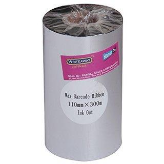 Wax Barcode Ribbon 110x300 mtm
