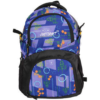 Justcraft Blue Water Resistant Backpacks