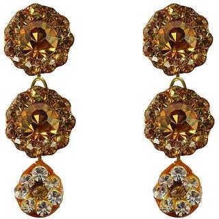 Vidhya Kangan Crystal Multicolor  Hangings Earrings for Women-ear519