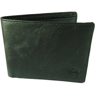 Reza Pellis Gents Wallet Pu Leather Black