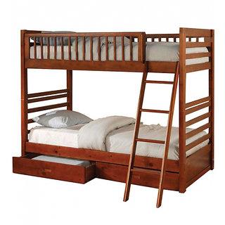 Einzelbett  Einzelbett Solid Wood Bunk kids Bed With Storage: Buy Einzelbett ...