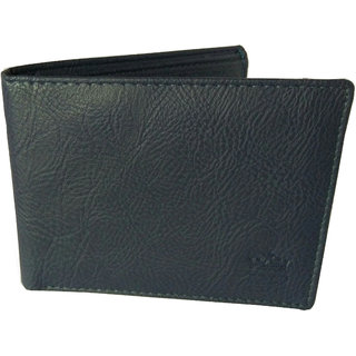 Reza Pellis Gents Wallet Pu Leather Blue