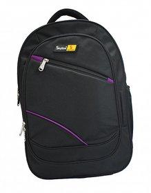 Skyline Laptop Backpack-Office Bag/Casual Unisex Laptop Bag-With Warranty- 905 Black