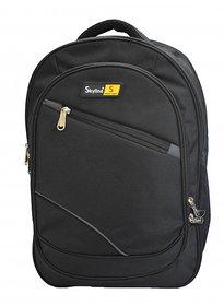 Skyline Laptop Backpack-Office Bag/Casual Unisex Laptop Bag-With Warranty- 905 Black.