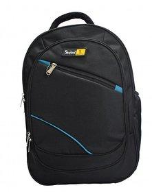 Skyline Black Laptop Backpack-Office Bag/Casual Unisex Laptop Bag-With Warranty- 905