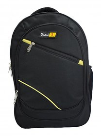 Skyline Laptop Backpack-Office Bag/Casual Unisex Laptop Bag-Black-With Warranty -905