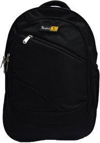 Skyline Black Laptop Backpack-Office Bag/Casual Unisex Laptop Bag-With Warranty -905