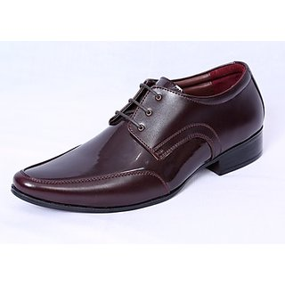 Port Snazzy Brown Men's Formal Shoes